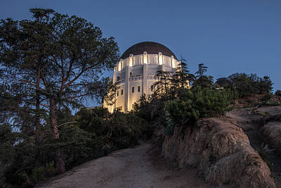 Photograph - Griffith Observstory At Blue Hour  by John McGraw