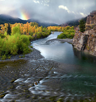 Photograph - Gros Ventre Autumn by Leland D Howard