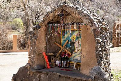 Photograph - Grotto At El Santuario by Tom Cochran