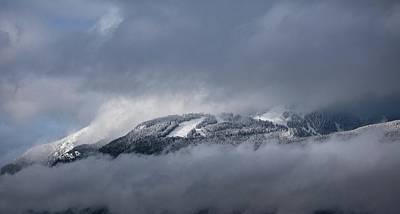 Photograph - Grouse Mountain #3 by Juan Contreras