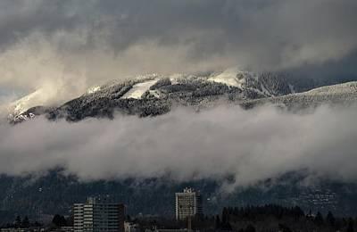 Photograph - Grouse Mountain II by Juan Contreras
