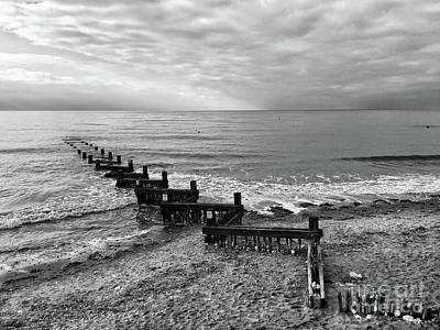 The North Sea Wall Art - Photograph - Groyne by John Edwards