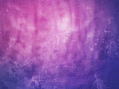 Photograph - Grunge Scratched Texture Blurred Shapes Of Pinks And Purples Abstract Art by Teri Virbickis