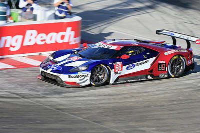 Sports Royalty-Free and Rights-Managed Images - GTLM #66 Ford GT by Shoal Hollingsworth