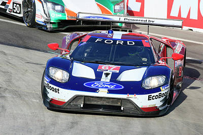 Sports Royalty-Free and Rights-Managed Images - GTLM #67 Ford GT by Shoal Hollingsworth