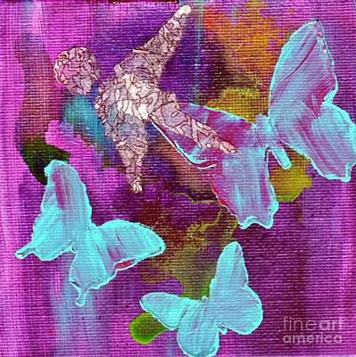 Mixed Media - Guardian Series - Infant by Jessica Browne-White