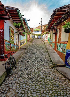 Photograph - Guatape Street by Francisco Gomez