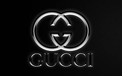 Abstract Graphics Rights Managed Images - Gucci Black Edition Royalty-Free Image by Ricky Barnard