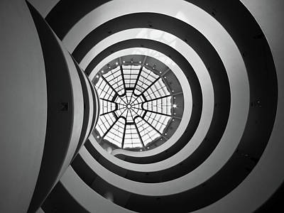 Photograph - Guggenheim Rotunda by Philipp Klinger