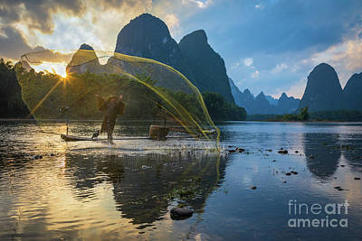 Photograph - Guilin Net by Inge Johnsson