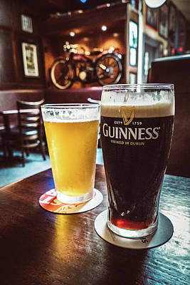 Photograph - Guinness And Gold by Brett Nelson