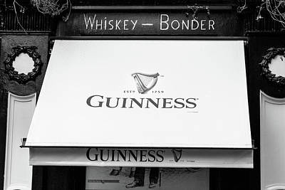 Photograph - Guinness Awning Dublin by Georgia Fowler