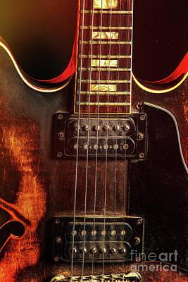 Photograph - Guitar By Gibson Wall Art 1744.27 by M K Miller