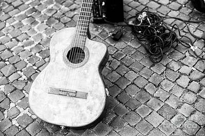 Photograph - Guitar In Roma by John Rizzuto
