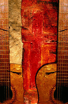 Photograph - Guitar Painting by Studio Mpm