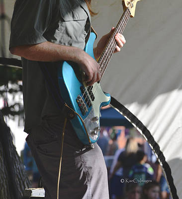 Photograph - Guitarist On Stage by Kae Cheatham