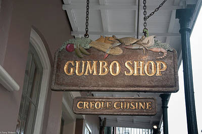 Owls - Gumbo Shop by Terry Thibeau