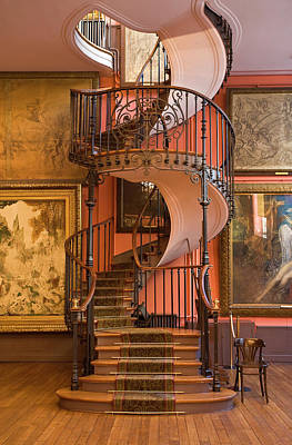 Photograph - Gustave Moreau Museum, Paris, France by Sylvain Sonnet