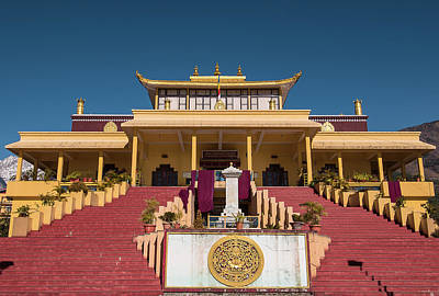 Photograph - Gyuto Monastery in McLeodganj, India by Jwngshar Narzary