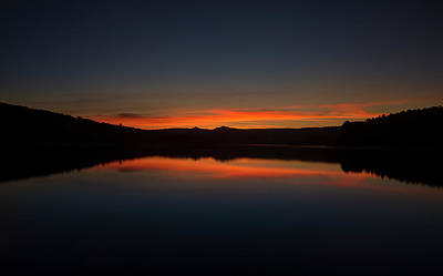 Photograph - Sunset In The Reservoir by Vicen Photography