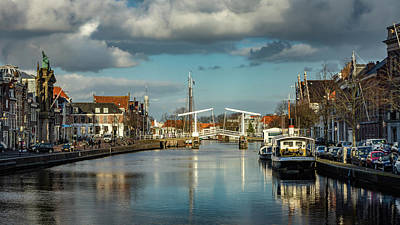 Photograph - Haarlem Canal by Framing Places