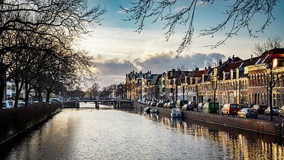 Photograph - Haarlem Sunset by Framing Places