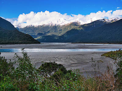 Photograph - Haast Valley - New Zealand by Steven Ralser