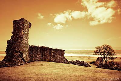 Photograph - Hadleigh Castle by Joseph Westrupp