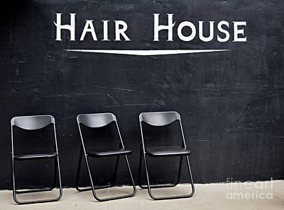 Photograph - Hair House by Steven Liveoak