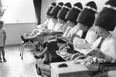 Photograph - Hairdryers by Thurston Hopkins