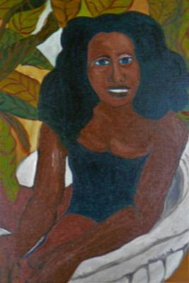 Painting - Haitian Dreams by Delorys Tyson