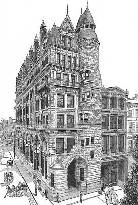 Drawing - Hale Building by Unknown