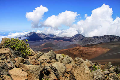 Photograph - Haleakala Crater by Dawn Richards