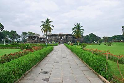 Karnataka Photograph - Halebidu Temple In Karnataka, India by Amit Basu Photography