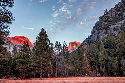 Photograph - Half Dome At Last Light - Yosemite National Park  by Gregory Ballos
