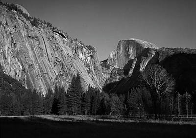 Photograph - Half Dome At Yosemite by John Rodrigues