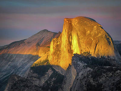 Photograph - Half Dome Of Yosemite by Phyllis Holler