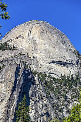 Wall Art - Photograph - Half Dome Up Close by Roslyn Wilkins