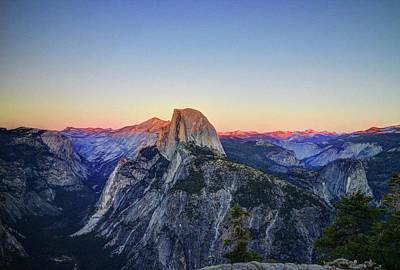 Photograph - Half Dome, Yosemite by Jeffrey PERKINS