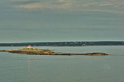 Photograph - Halifax Lighthouse by Meta Gatschenberger