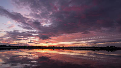 Halifax River Sunset Art Print