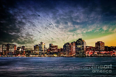 Photograph - Halifax Skyline by Scott Kemper