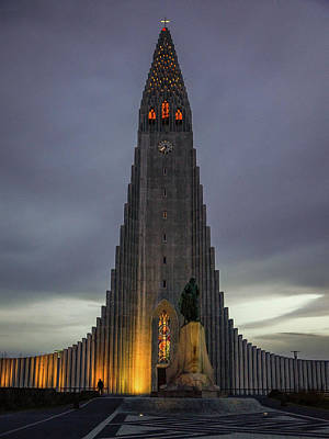 Photograph - Hallgrimskirkja by Framing Places