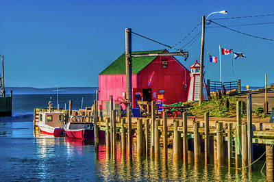 Nova Scotia Wall Art - Photograph - Halls Harbour Nova Scotia by David Smith