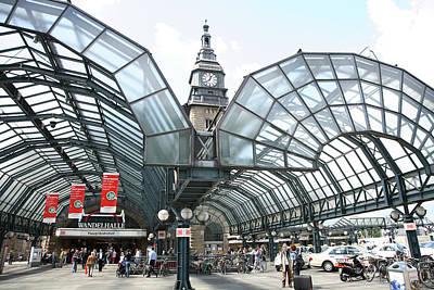 Photograph - Hamburg, Germany by Travel Ink