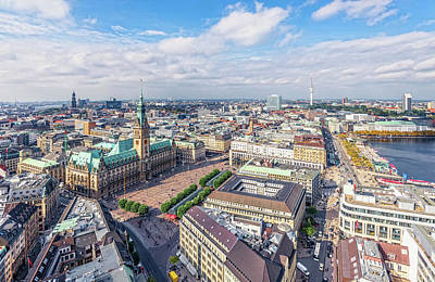 Photograph - Hamburg by Juergen Sack