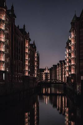 Photograph - Hamburg Speicherstadt by Ute Herzog