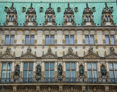 Photograph - Hamburg Town Hall by Www.victoriawlaka.com