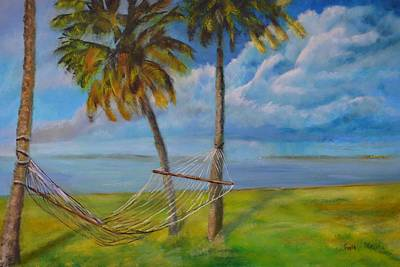 Painting - Hammock by Roger Snell