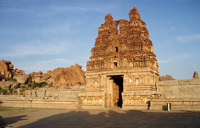 Karnataka Photograph - Hampi Temple by Matthieu Aubry - Matthieu.net